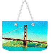Fort Point Golden Gate Bridge Weekender Tote Bag