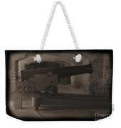 Fort Sumpter Cannon Weekender Tote Bag