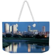 Fort Worth Blue 062217 Weekender Tote Bag