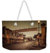 Fort Worth Impressions Stockyards Weekender Tote Bag