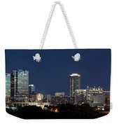Fort Worth Skyline 051918 Weekender Tote Bag
