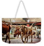 Fort Worth Stockyards Weekender Tote Bag