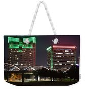Fort Worth Texas Weekender Tote Bag