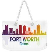 Fort Worth Tx Weekender Tote Bag