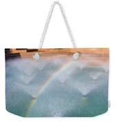 Fort Worth Water Gardens - Aerated Pool Weekender Tote Bag