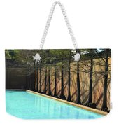 Fort Worth Water Gardens - Quiet Pool Weekender Tote Bag