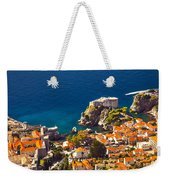 Fortress Of Dubrovnik From Above Weekender Tote Bag