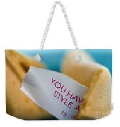 Fortune Cookie Weekender Tote Bag