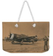 Fortune Favors The Bold Weekender Tote Bag
