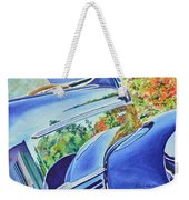 Forty Ford In Fall Weekender Tote Bag