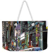 Forty Second And Eighth Ave N Y C Weekender Tote Bag