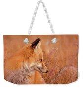 Found Fox Weekender Tote Bag