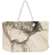 Found - Study For The Head Of The Girl Weekender Tote Bag