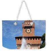 Fountain And Castle Weekender Tote Bag