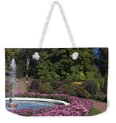 Fountain And Mums Weekender Tote Bag