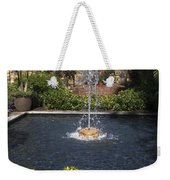 Fountain And Peppers Weekender Tote Bag