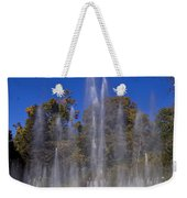 Fountain And Rainbow Weekender Tote Bag
