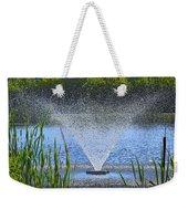 Fountain Art Weekender Tote Bag