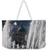 Fountain At Amalie Garden Next Weekender Tote Bag