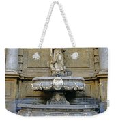 Fountain At Quattro Canti In Palermo Sicily Weekender Tote Bag