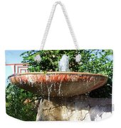 Fountain At Taliesen Weekender Tote Bag