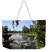 Fountain At The Swamp Weekender Tote Bag