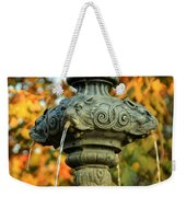 Fountain At Union Park Weekender Tote Bag