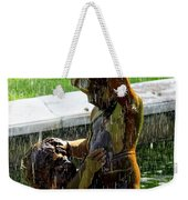 Fountain Cherubs Weekender Tote Bag