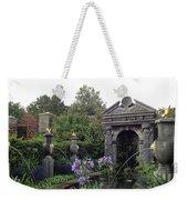 Fountain Garden Weekender Tote Bag
