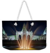 Fountain In Parc Du Cinquantenaire - Brussels Weekender Tote Bag