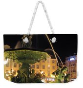 Fountain In Rossio Square Weekender Tote Bag