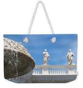 Fountain In The Piazza Weekender Tote Bag