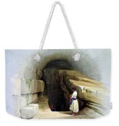 Fountain Of Siloam Valley Of Jehosophat 1842 Weekender Tote Bag