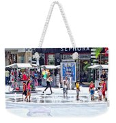 Fountain Party Weekender Tote Bag