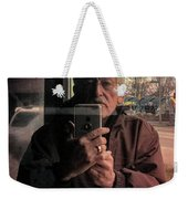 Fountain Square Theater Weekender Tote Bag