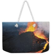 Fountaining Action Weekender Tote Bag