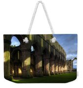 Fountains Abbey Shadows Weekender Tote Bag