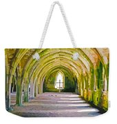 Fountains Abbey, Vaulted Chamber Weekender Tote Bag