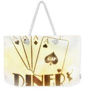 Four Aces Diner Weekender Tote Bag