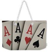 Four Aces Studio Weekender Tote Bag