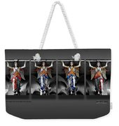 Four Angels Of The Corvey Abbey Weekender Tote Bag