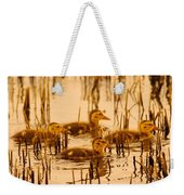 Four Baby Duckies Weekender Tote Bag