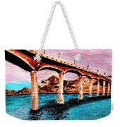 Four Bears Bridge Weekender Tote Bag
