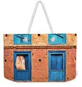 Four Blue Windows Weekender Tote Bag