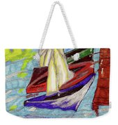 Four Boats Weekender Tote Bag