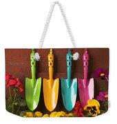 Four Colored Trowels  Weekender Tote Bag