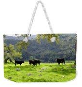 Four Cows At Nojoqui Ranch Weekender Tote Bag