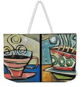 Four Cups Of Java Weekender Tote Bag