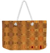Four Eggplant Fruits Abstract Weekender Tote Bag