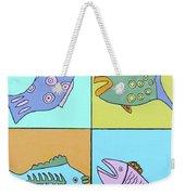 Four Fish Weekender Tote Bag